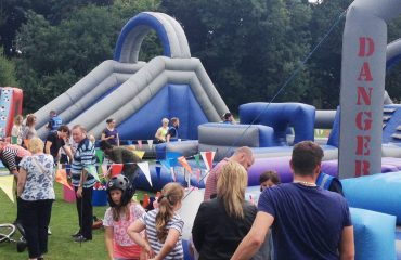 Corporate family fun day