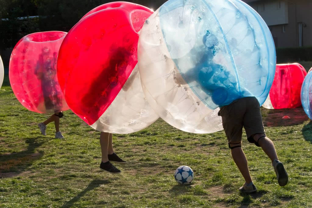 Bubble Football Team Building
