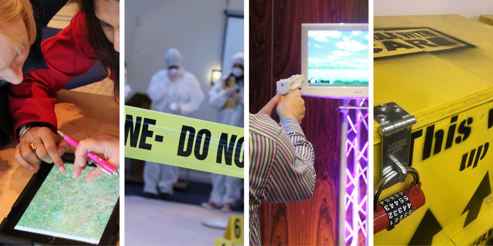 Team Building Events CSI iPad Escape Room Virtual Olympics