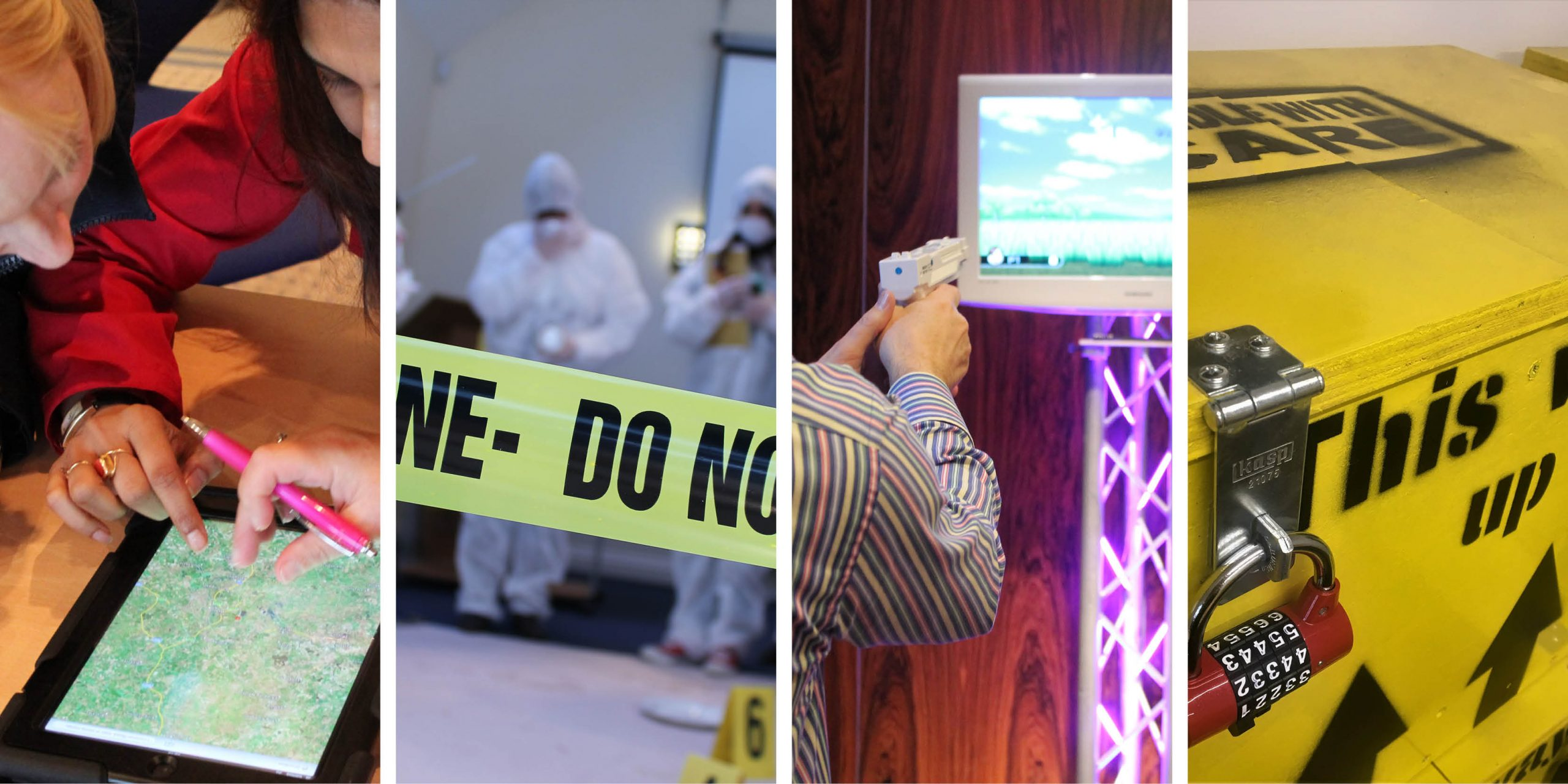 Team Building Events CSI iPad Escape Room Virtual Olympics