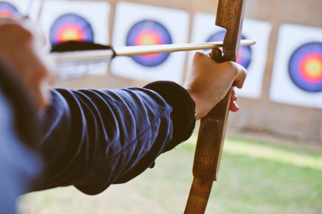 archery, outdoor, team building, country pursuits