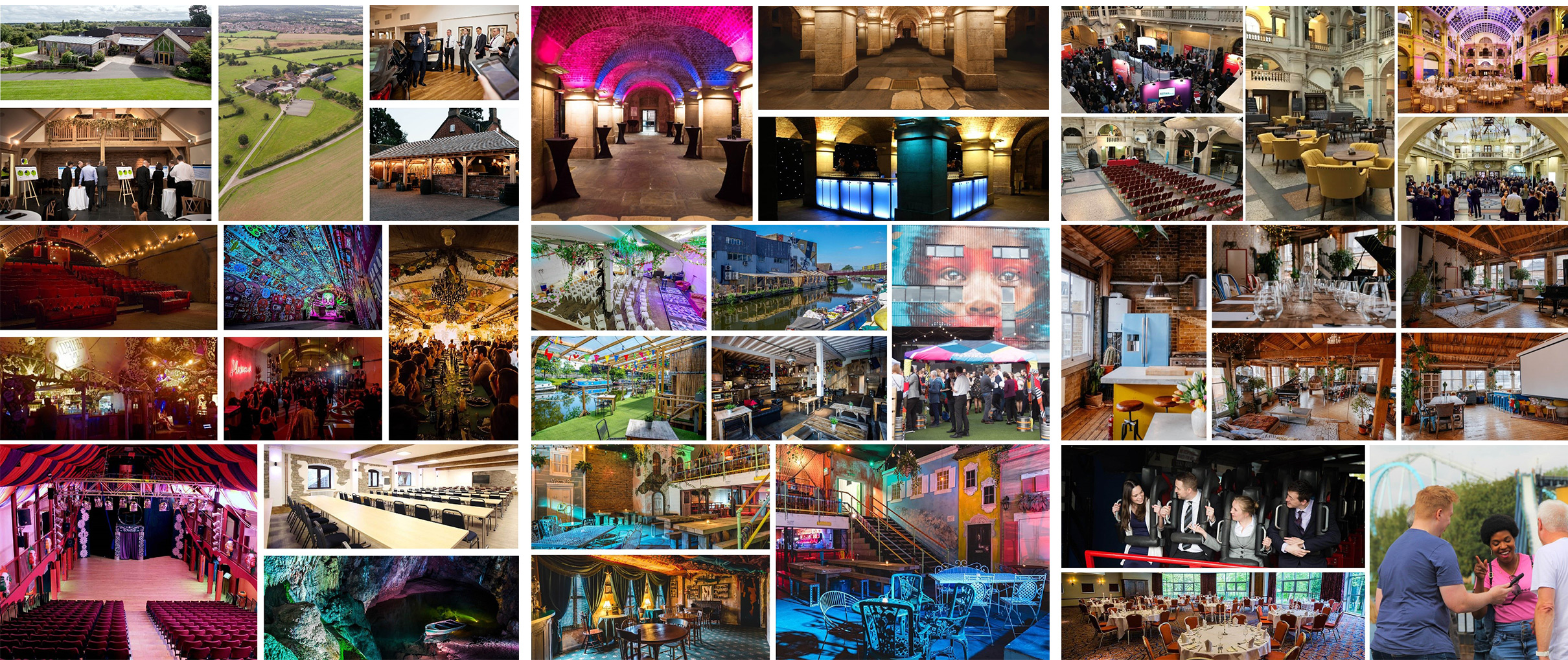 Unusual Venues, Conferences, Meetings