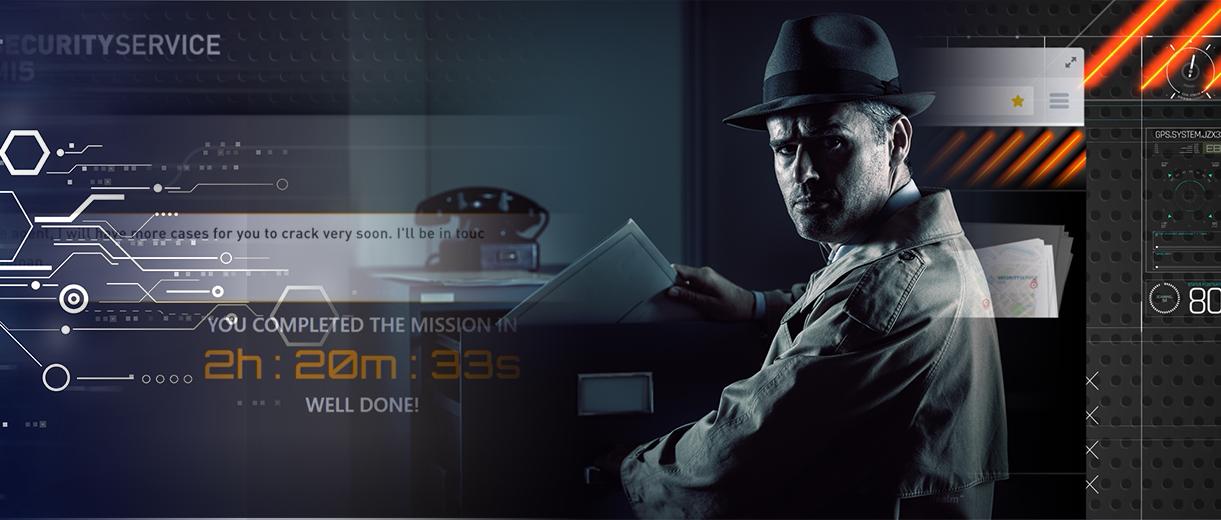 Virtual Team Building, Rogue Agent, Escape Room